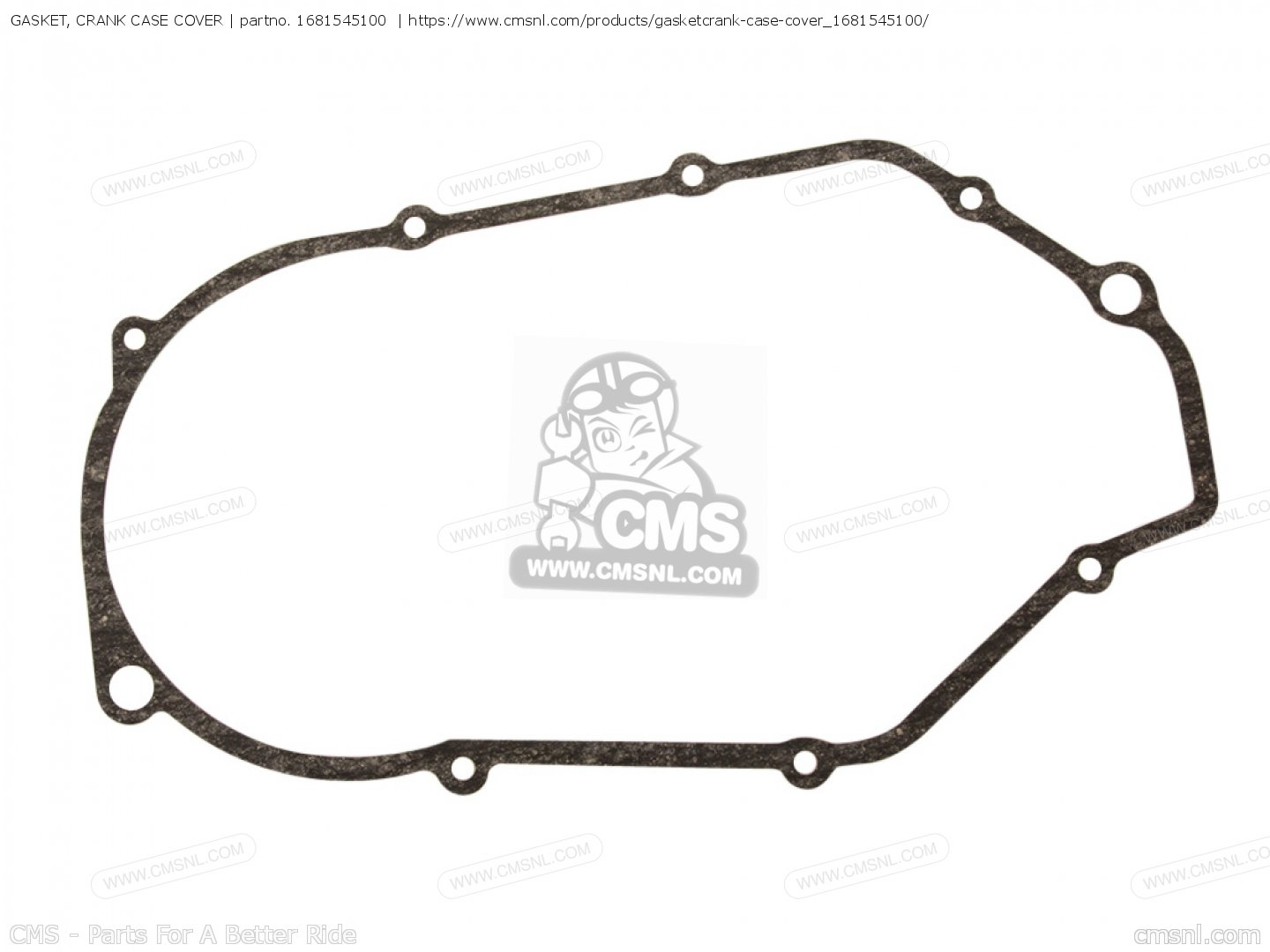 Gasket Crank Case Cover For R3 Usa