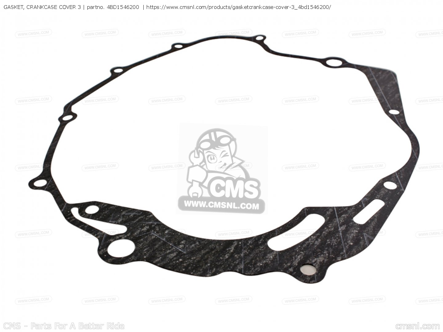 GASKET, CRANKCASE COVER 3 for YFB250D TIMBERWOLF MAINE AND