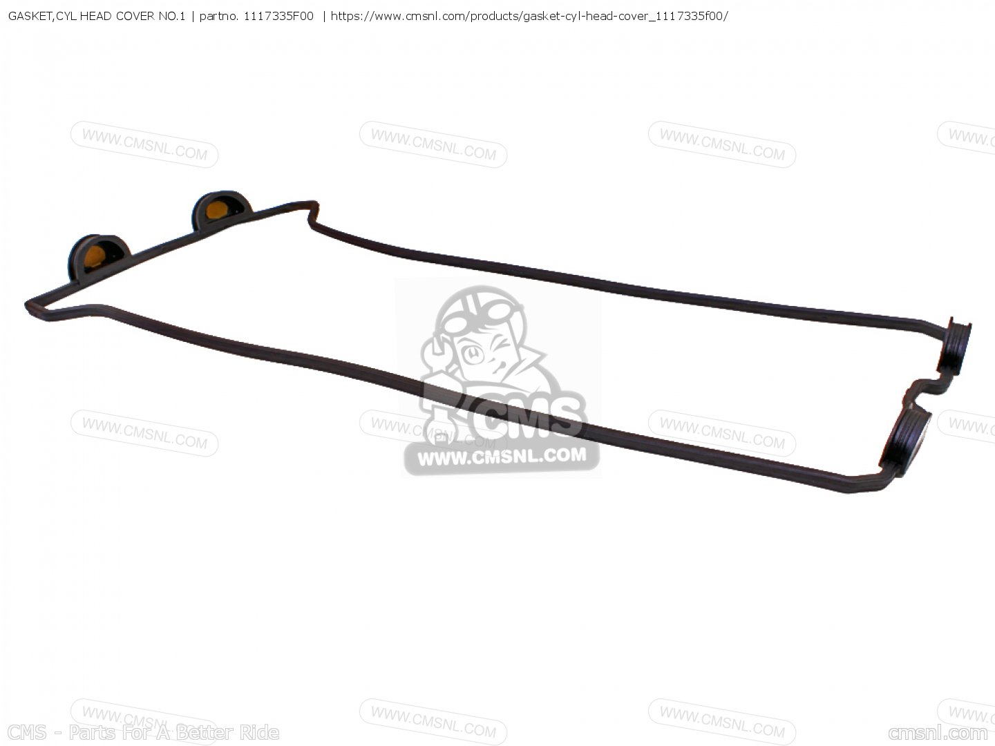 GASKET,CYL HEAD COVER NO.1 (NAS) for GSXR1000 2011 (L1