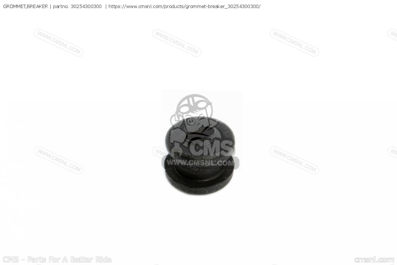Grommet,breaker Cb750 Four K4 1974 Usa 30254300300