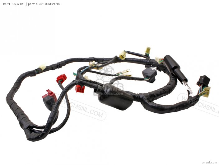 Honda Nx650 Dominator 1988 (j) Germany Wire Harness
