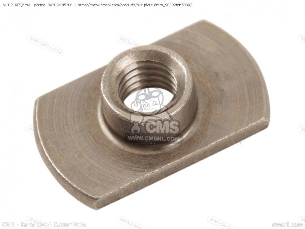 medium resolution of nut plate 6mm photo