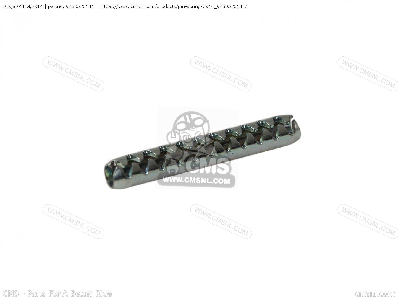 Pin Spring 2x14 Honda