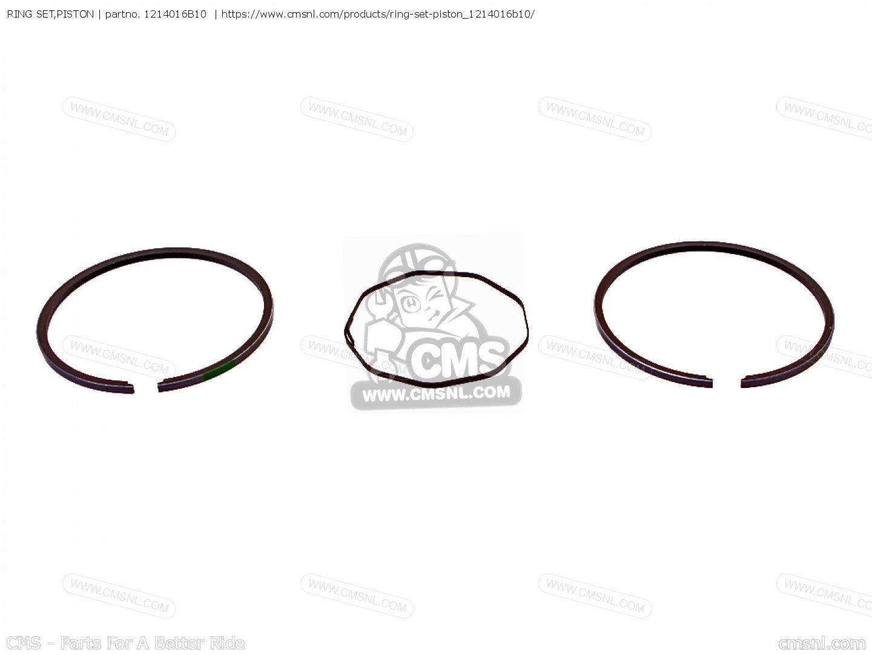 B10 Ring Set Piston Suzuki
