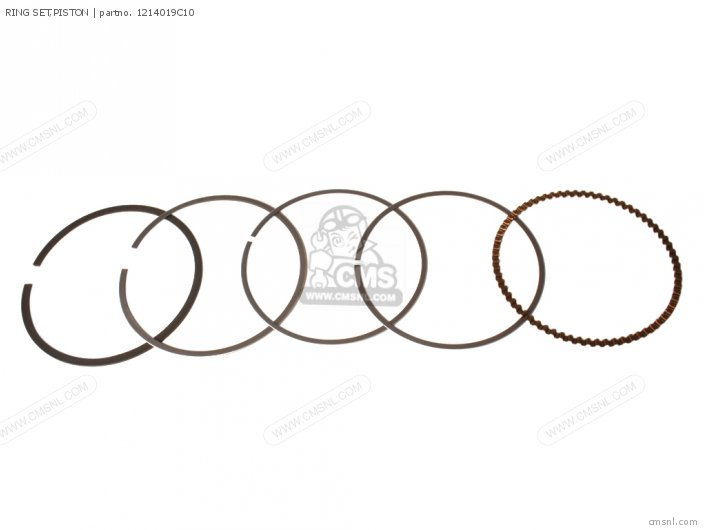 Ring Set,piston Gsf600s Bandit 1996 (t) Usa (e03) 1214019C10