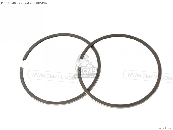 RING SET,PS 0.25 for FL350R ODYSSEY 350 1985 (F) USA