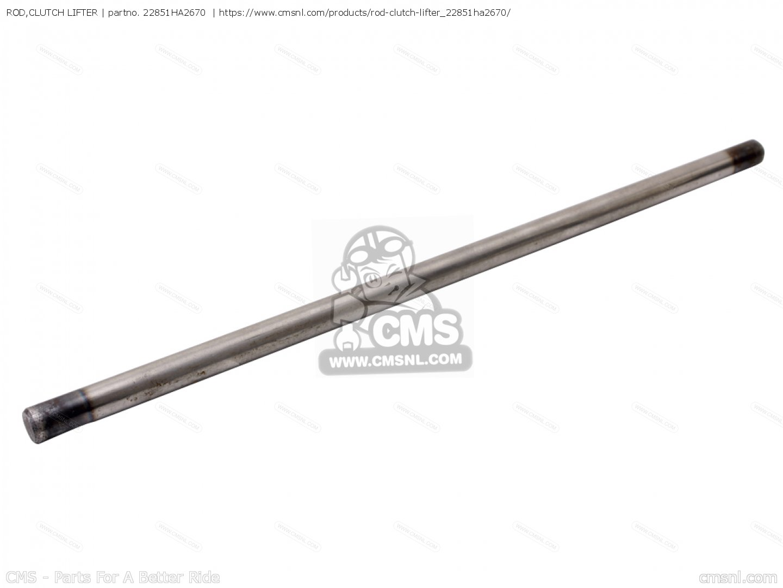 ROD,CLUTCH LIFTER for TRX250R FOURTRAX 250R 1986 (G) USA