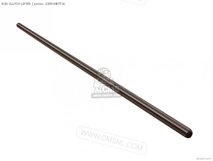 ROD,CLUTCH LIFTER for XL1000V VARADERO 2003 (3) ENGLAND
