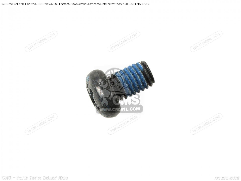 Screw Pan 5x8 For Crf250r 6 European Direct Sales