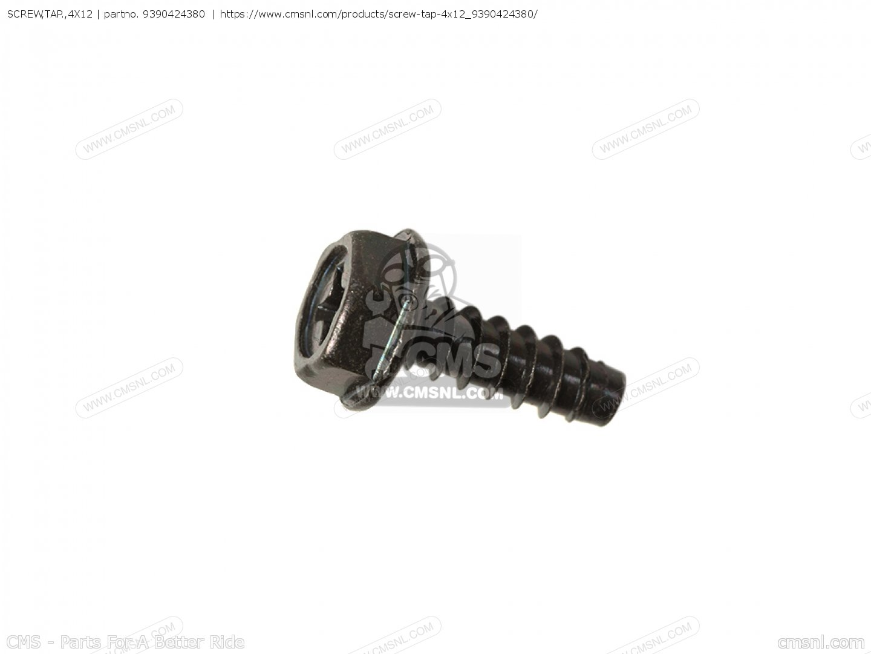 Screw,tap.,4x12 Nh125 Aero 125 1984 (e) Usa 9390424380