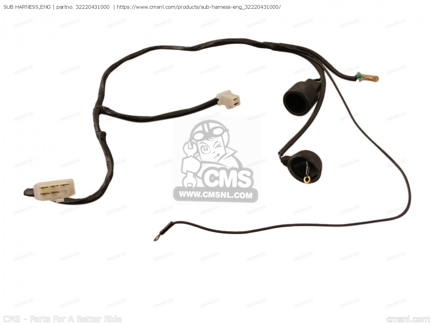 Sub Harness Eng For Gl Goldwing Z Usa