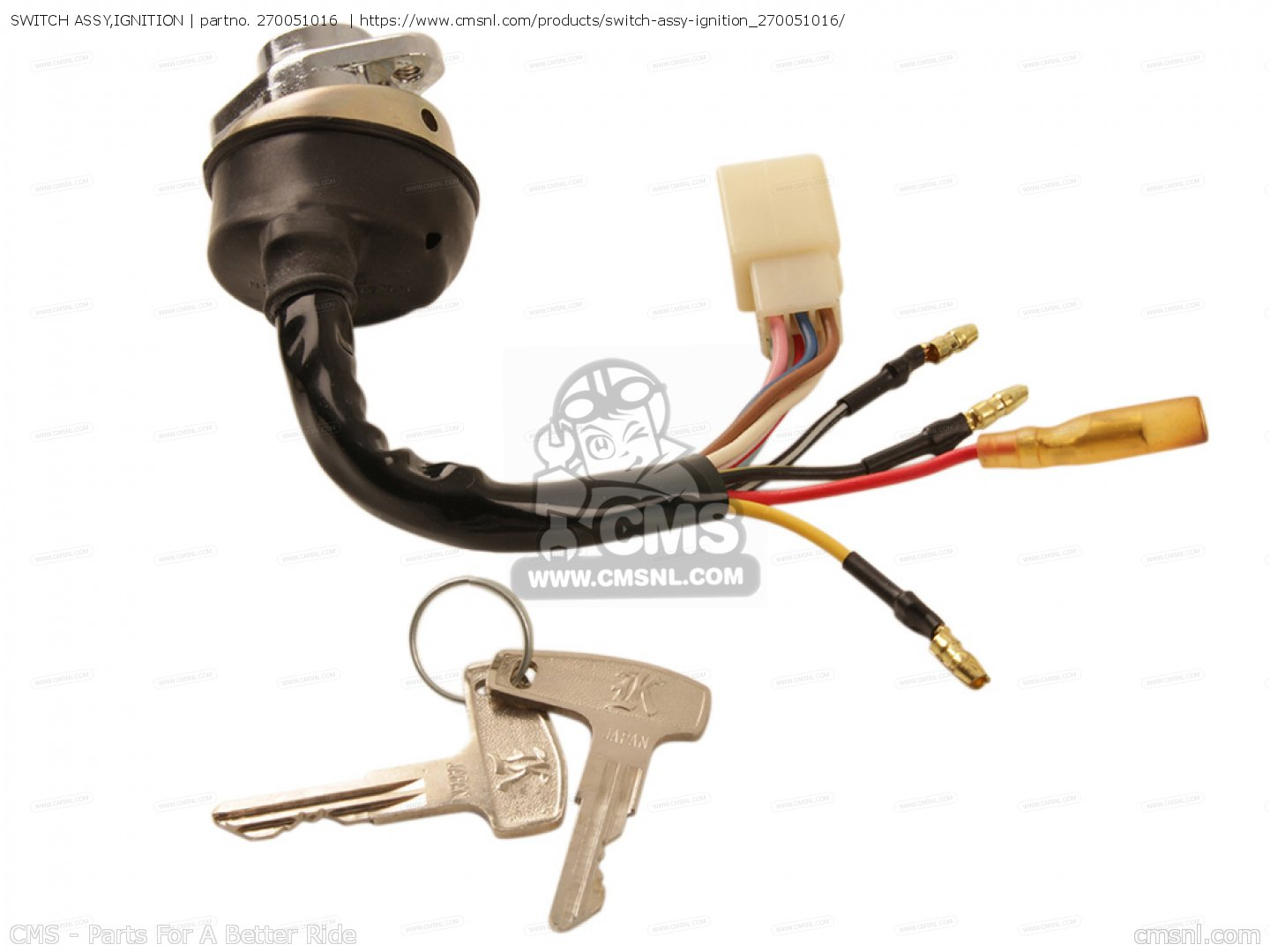 ignition switch deutsch car wiring diagram for alarms 270051016 assy kawasaki buy the 27005