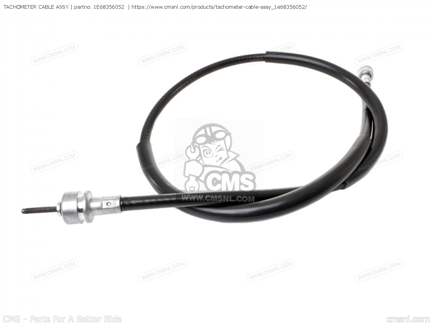 Tachometer Cable Assy For Xt500 Dual Purpose Usa