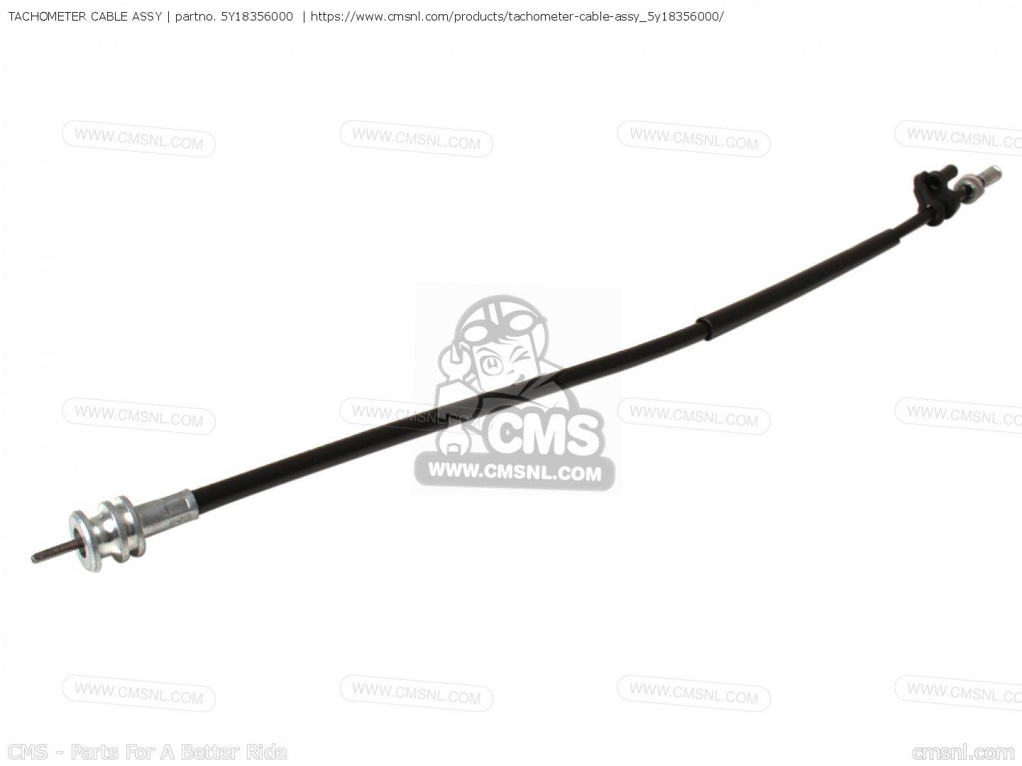 Tachometer Cable Assy For Xt550 Dual Purpose D Usa