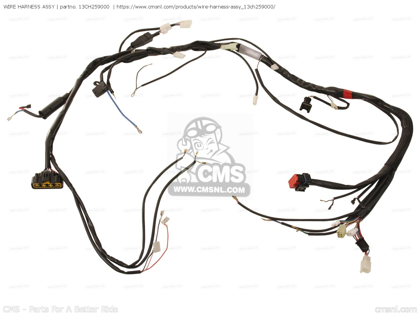 Wire Harness Assy For Dt50r 13cb Europe 1k13c 300e1