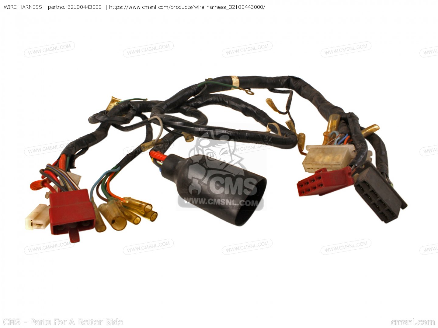 hight resolution of 32100443000 wire harness honda buy the 32100 443 000 at cmsnl wire harness photo