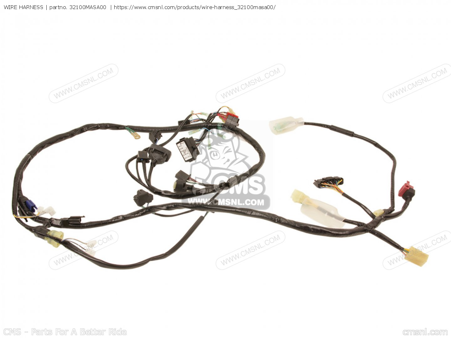 hight resolution of 32100masa00 wire harness honda buy the 32100 mas a00 at cmsnl wire harness