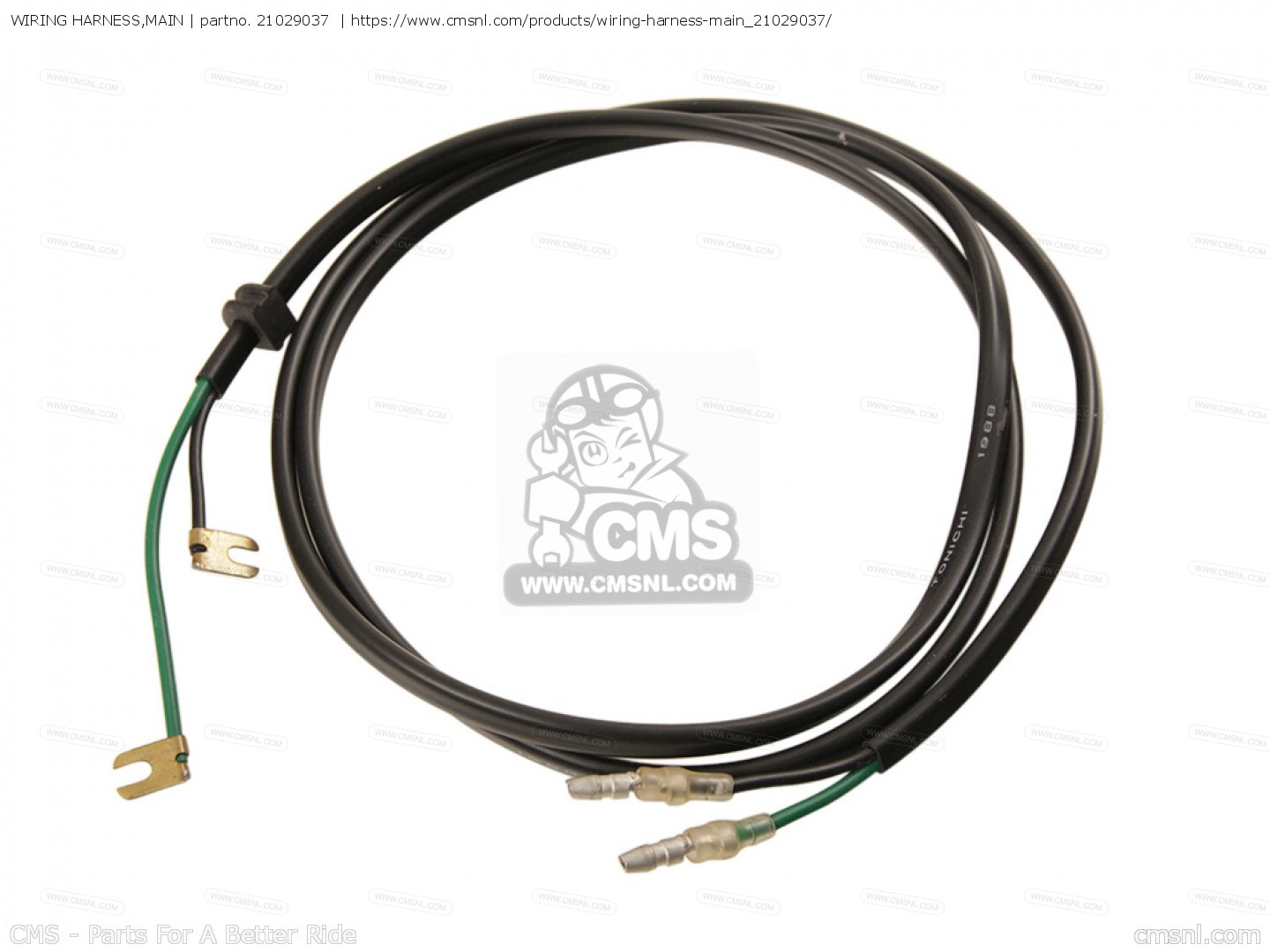 Wiring Harness Main For Kz D1 Z1r Canada