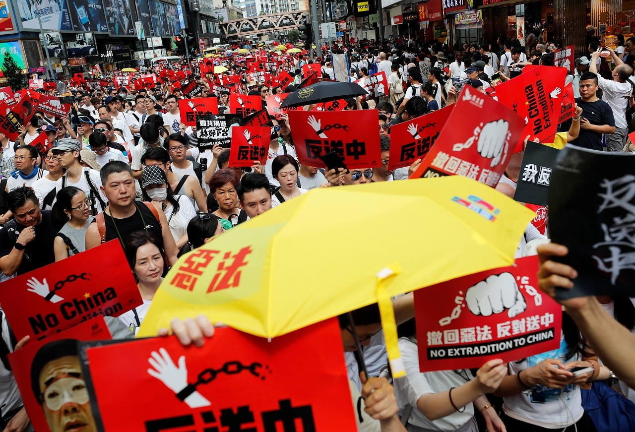In pictures: Hong Kong plunged into political crisis after huge protest against extradition law - cnbctv18.com