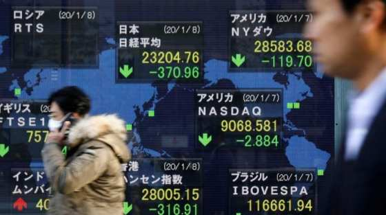 2. Asian Stocks: Stocks in Asia-Pacific rose Thursday following an overnight bounce on Wall Street.  The Nikkei 225 in Japan jumped 1.2 percent in early trade, partially recovering after two days of losses earlier in the week.  Shares in Australia edged higher as the S & P / ASX 200 rose 0.21 per cent.  MSCI's broadest index of Asia-Pacific stocks outside Japan traded 0.07 percent higher.