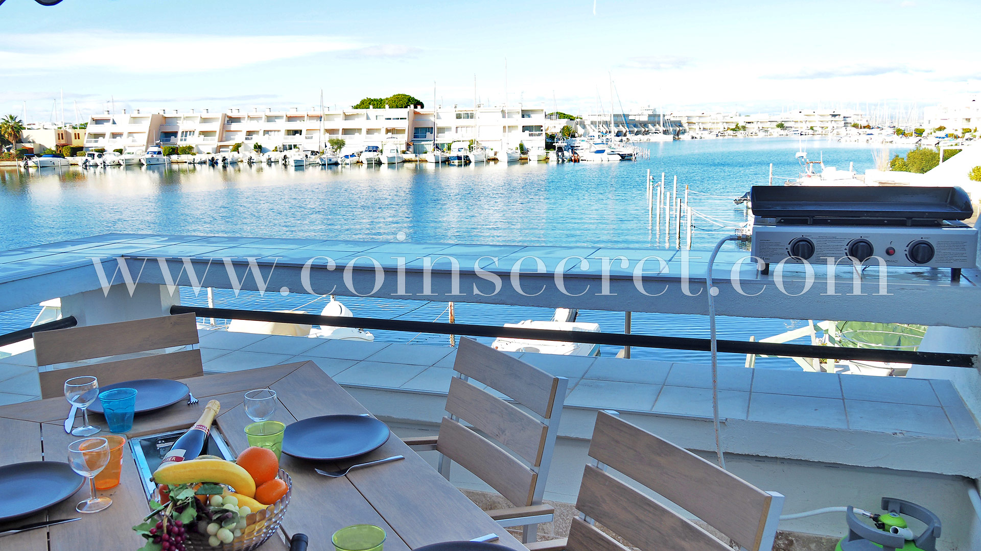 Appartement Terrasse Vue Mer Grau Du Roi Appartement Marina Port Camargue Coins Secrets