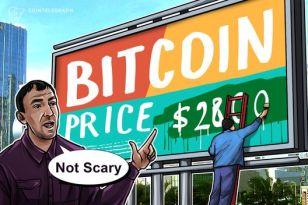 """Bitcoin-Kurs von 2.800 US-Dollar vor Halbierung """"nicht beängstigend"""""""