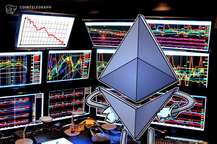 Ethereum price faces a potential 30% correction after failing to break 0