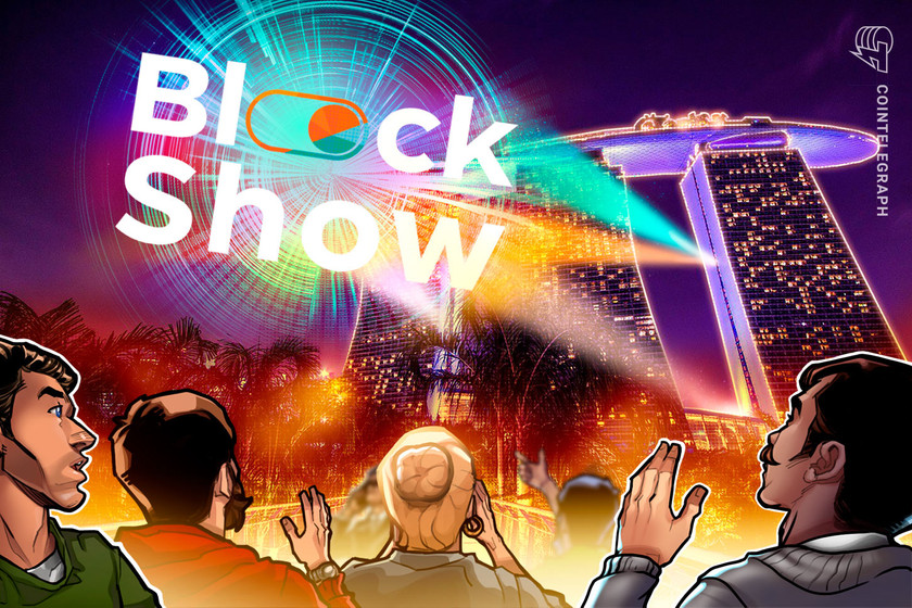 Join BlockShow, part of the FinTech Festival backed by Monetary Authority of Singapore