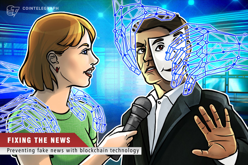 Blockchain can stamp out fake news and rebuild trust in mass media