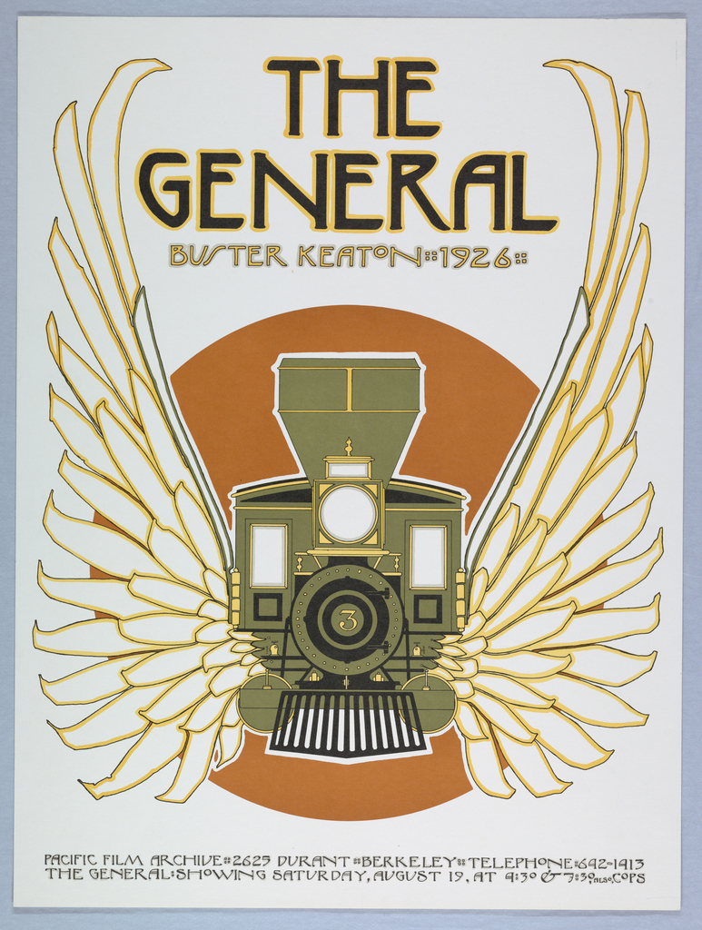 poster the general buster keaton 1926
