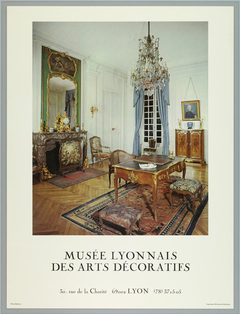 Musée Des Arts Décoratifs Lyon : musée, décoratifs, Poster,, Musee, Lyonnais, Decoratifs, Objects, Collection, Cooper, Hewitt,, Smithsonian, Design, Museum