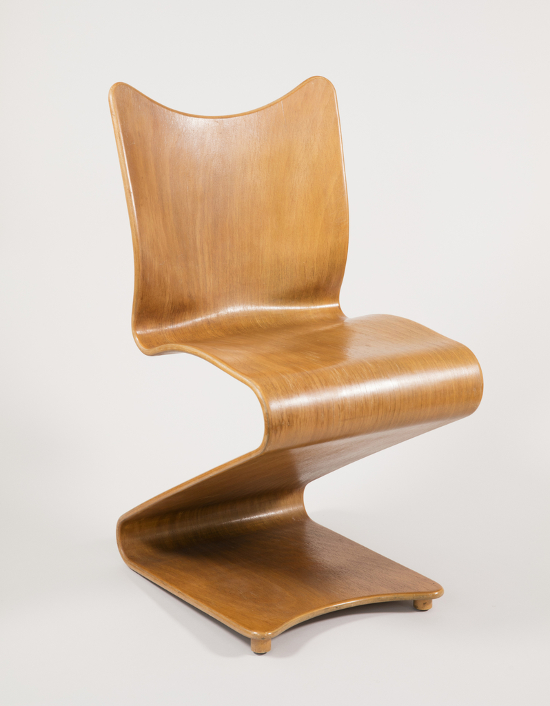 S Shaped Chair Model 275 S Chair Designed 1956 Manufactured 1966 Objects