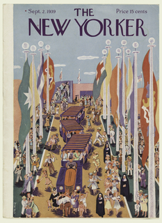 print cover of the new yorker the new