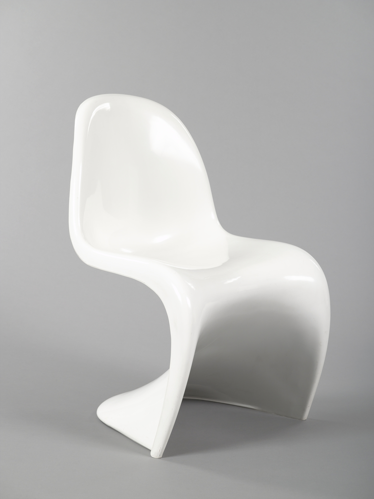 S Shaped Chair Panton Stacking Side Chair Designed 1960 Manufactured 1972