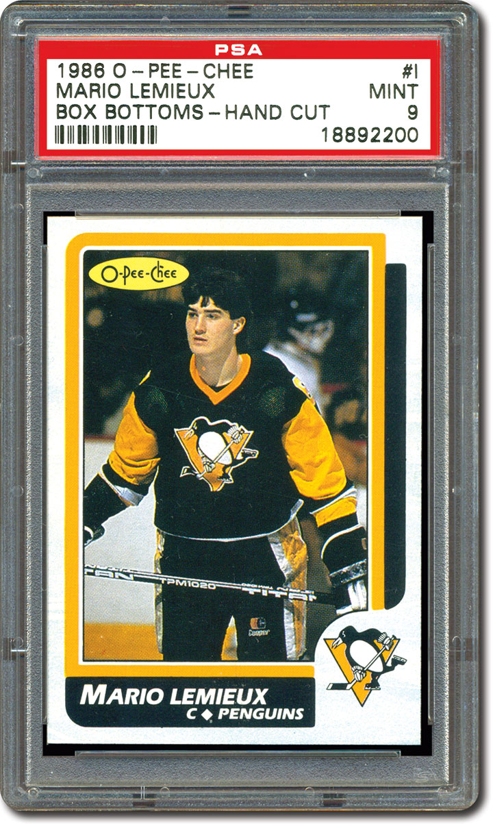 Collecting Mario Lemieux Hockey Cards Identifying The Key
