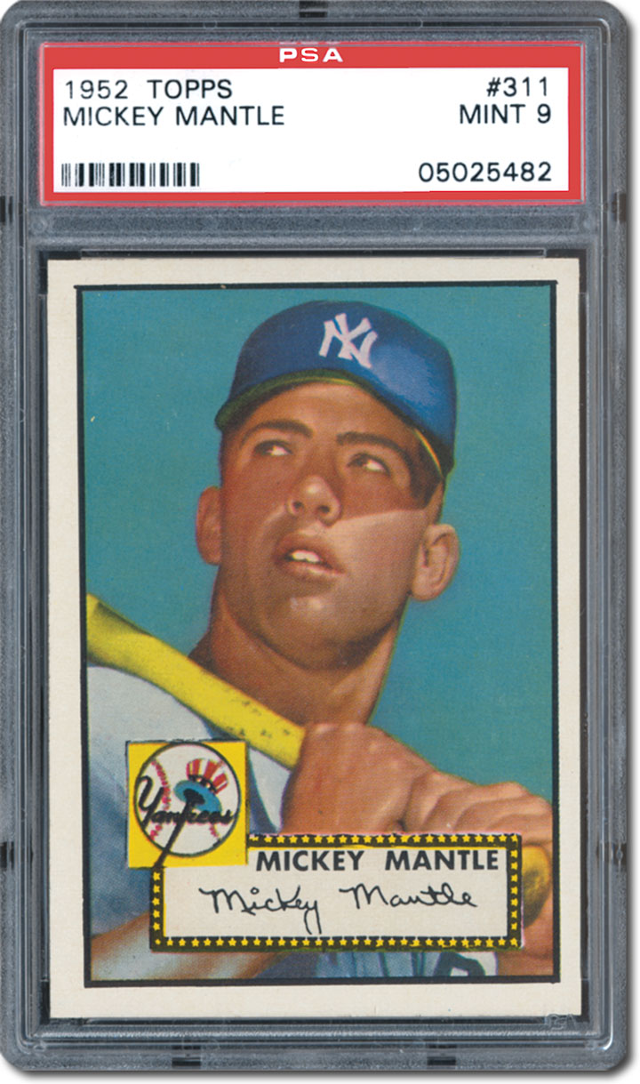 Pulp NonFiction The Famous 1952 Topps Baseball Find