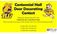 Centennial Hall Door Decorating Contest