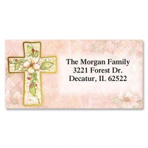 religious address labels inspirational