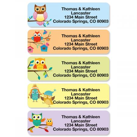 owls rolled return address