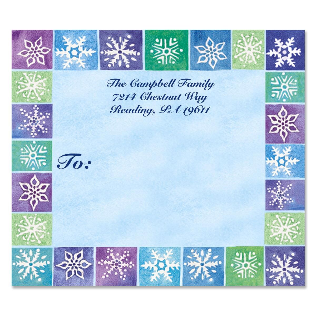 Seasons On Parade Package Labels