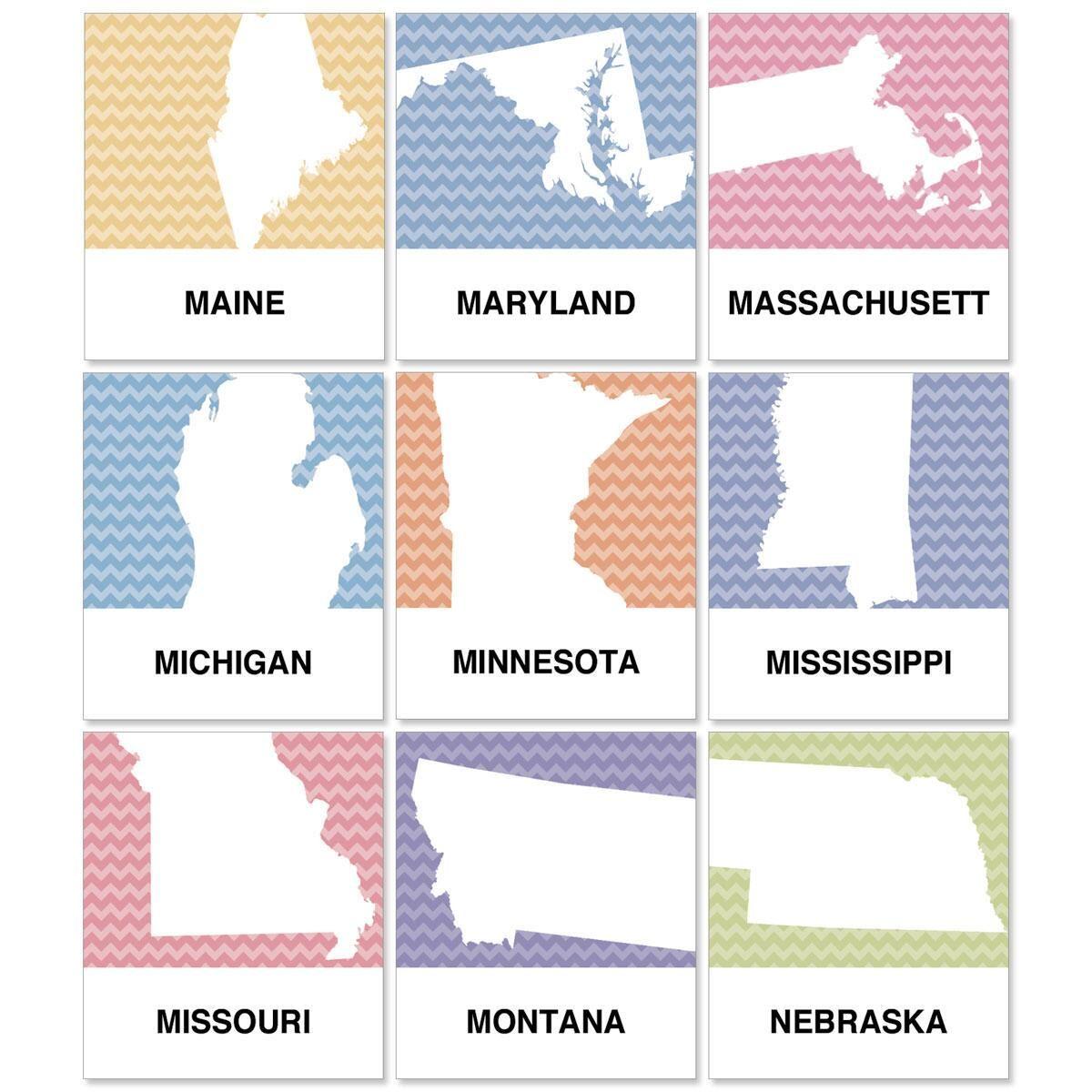 States Select Return Address Labels