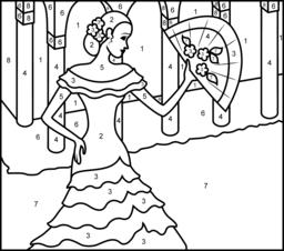 Princesses Coloring Pages