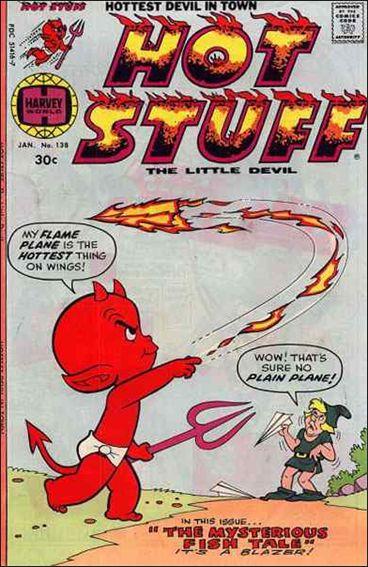 Hot Stuff the Little Devil 138 A Jan 1977 Comic Book by