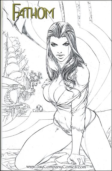 Fathom 7 C, Aug 1999 Comic Book by Top Cow