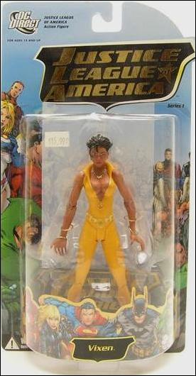 Vixen Justice League Action