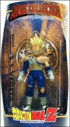 Dragon Ball Z Movie Collection Battle Damaged Super Saiyan Vegeta Jan 2000 Action Figure by