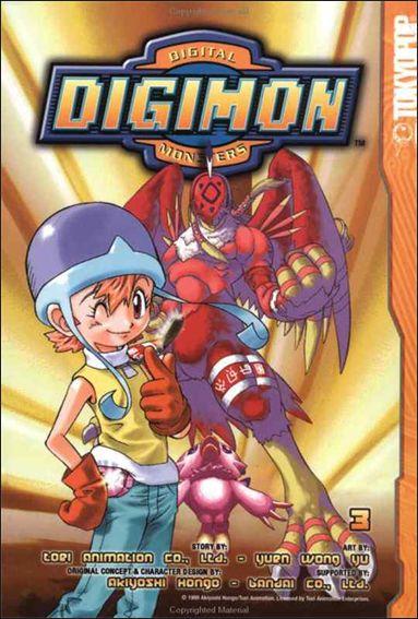 Digimon 3 A Jun 2003 Comic Book by Tokyopop
