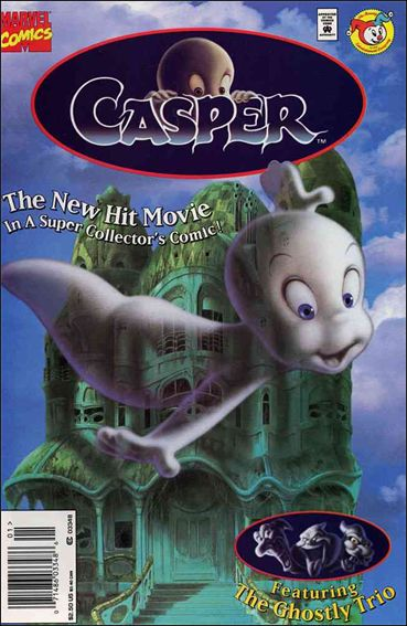 Casper Movie Adaptation 1 A Jul 1995 Comic Book by Marvel