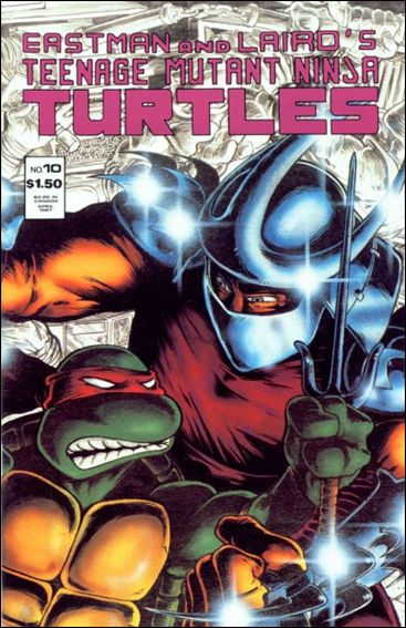 Teenage Mutant Ninja Turtles 10 A Apr 1987 Comic Book by Mirage