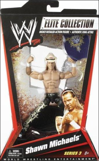 WWE Elite Collection Shawn Michaels Jan 2010 Action Figure by Mattel